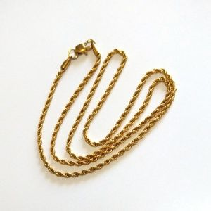 Chain, 14K Yellow Gold Plated
